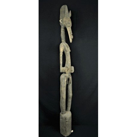 Belle statue africaine pilon Dogon-Senoufo