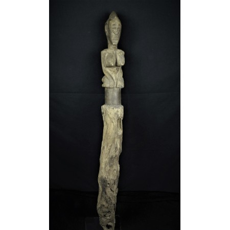 Art africain Piquet totem de protection Dogon