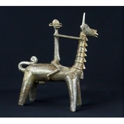 Art africain Bronze africain Dogon