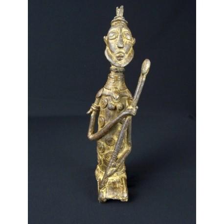 Art africain Bronze africain Guerrier Dogon