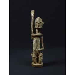 Art tribal statuette africaine amulette  Tellem Dogon