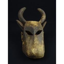 Masque africain Dogon zoomorphe tête de buffl