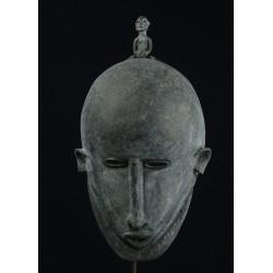 Masque en alliage bronzier - Dogon MALI