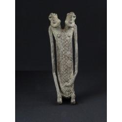 Statue bronze bicéphale