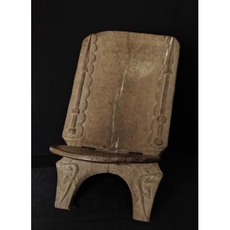 Art africain Dogon chaise à palabre