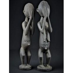 Couple de statues Dogon - Mali