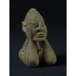 Fétiche africain Dogon en pierre 12cm