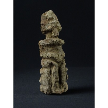 Fétiche africain Dogon en pierre