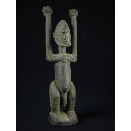 Statue tribal Dogon Tellem - Mali 50cm