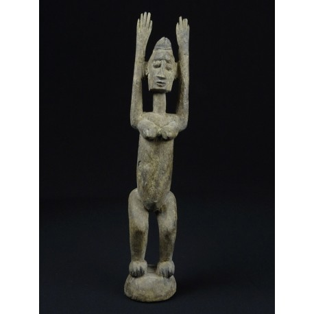 Statue art tribal africain Tellem 32cm