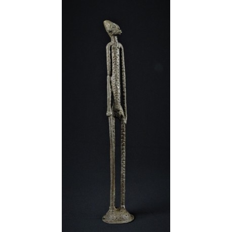 Bronze longiligne berger Dogon 46cm