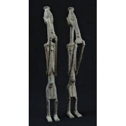 Art tribal Couple primordial Dogon bronze