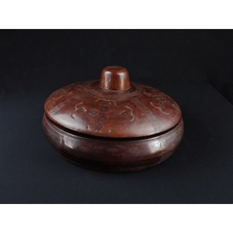 Art artisanal Touareg Boite en cuir