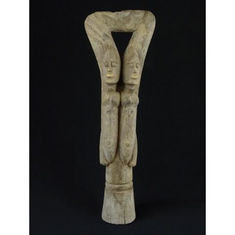 Statue africaine pilon Dogon