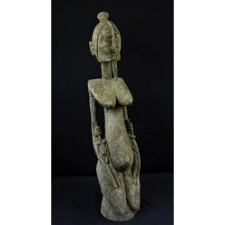 Grande Statue africaine de maternité Dogon