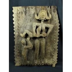 Art africain Porte de grenier Dogon