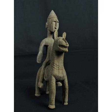 Statue africaine Cavalier Dogon