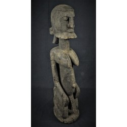 Statue africaine Dogon hermaphrodite