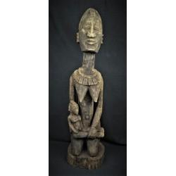 Grande Statue africaine maternité Dogon