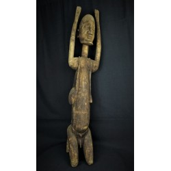 Art africain statue Chasseur Dogon